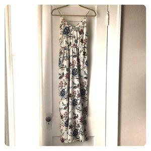 LOFT Maxi Dress, Floral Pattern
